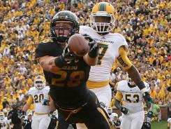 Missouri will look to upset Georgia when it hosts its first SEC conference game Saturday.