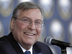 Sabres owner Terry Pegula, shown Feb. 22, 2011, has spent hundreds of millions to buy and revamp the team.