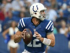 Andrew Luck will make his NFL debut today when the Colts travel to Chicago to play the Bears.