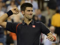 Novak Djokovic of Serbia is back in the semifinals of the U.S. Open. Not there this year are Roger Federer and Rafael Nadal.