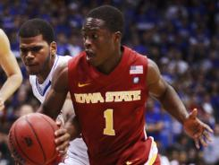 Iowa State basketball player Bubu Palo has been released from jail after being charged with sexually abusing a woman he drove home earlier this year.
