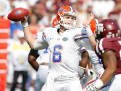 Florida quarterback Jeff Driskel led the Gators past Texas A&M to spoil the Aggies' debut as an SEC member.