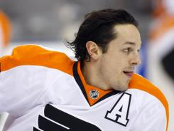 Philadelphia Flyers forward Danny Briere lost his mother on Aug. 19.