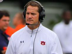 Auburn coach Gene Chizik was not at all happy during the Tigers' 28-10 loss at Mississippi State.