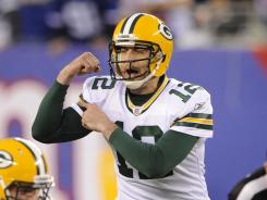 Packers quarterback Aaron Rodgers is coming off an MVP season in 2011.