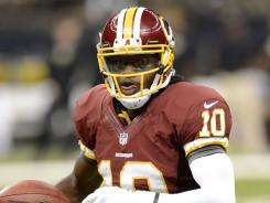 Washington Redskins quarterback Robert Griffin III was impressive in his NFL debut against the New Orleans Saints.