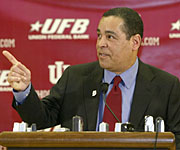 Kelvin Sampson will make it a point to return Indiana to the elite level of college hoops.