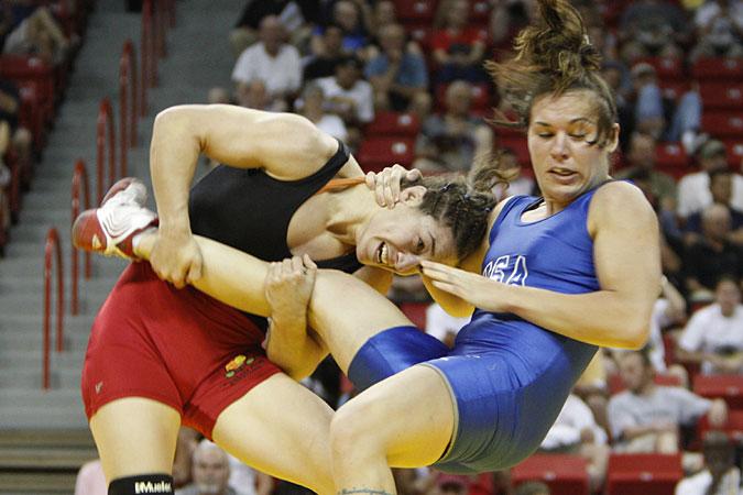 Re  Sara Mcmann vs  Ronda Rousey  who will win Sara Mcmann Olympics