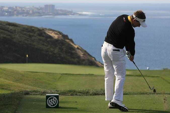 luke donald wife diane. English golfer Luke Donald tees off during the first round of the Buick Invitational at Torrey
