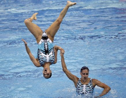 Synchronized Swimming Oops | Smells Like Chlorine