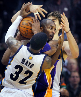 Lakers/Grizzlies: Let's Hope This Isn't A Habit.