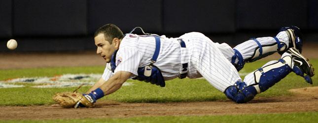 Mets catcher Paul LoDuca