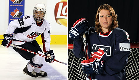 American ice hockey player Caitlin Cahow will appear in her second Olympic Games this February in Vancouver.