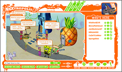 Nicktropolis, a virtual world for kids, is just one of MTV Network's three virtual spaces for viewers.