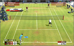 'Virtua Tennis 3' looks fantastic on the PlayStation 3 and Xbox 360.