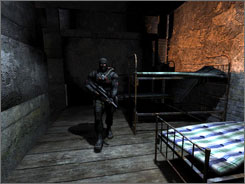 S.T.A.L.K.E.R.: Shadow of Chernobyl lets you return to the radioactive spot in northern Ukraine many years later to face bizarre mutants and other nasty threats.