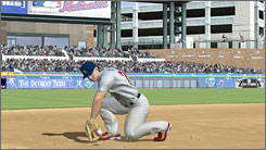 "The career mode is the only standout feature in ""MLB 07: The Show.'"