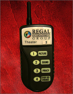 Regal's wireless device quickly boils problems down.