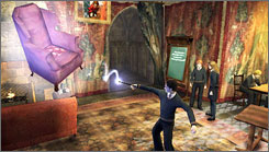 Harry Potter  is perfect for the Wii's remote control, which you can wave to cast spells.