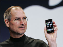 Steve Jobs believes Apple can sell 10 million iPhones in the first 18 months.