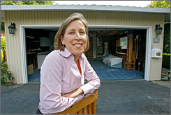 Susan Wojcicki's garage in Menlo Park, Calif., served as Google's first headquarters. Now, Wojcicki is a vice president for the search giant.