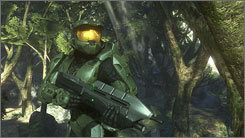'Halo 3' continues the popular sci-fi combat series that has sold almost 15 million copies.