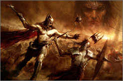 'Age of Conan: Hyborian Adventures' is massive multiplayer online game.