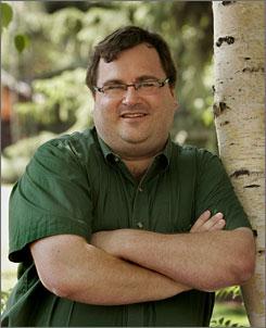 LinkedIn chairman Reid Hoffman.