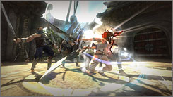 The only flaw in 'Heavenly Sword' is the campaign doesn't last long enough.