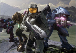 The Halo franchise has spawned a mini-empire of licensed toys, clothing and tie-ins.
