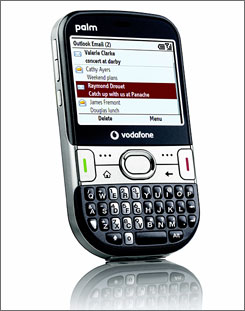 The new Palm Treo 500v.