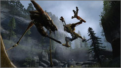 Nasty aliens infest the world of the Half-Life 2 games