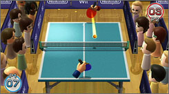 The top-selling 'Wii Play' game, which comes with an additional Wii remote, has nine casual games, including table tennis.