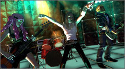 'Rock Band' features nearly 60 classic songs.