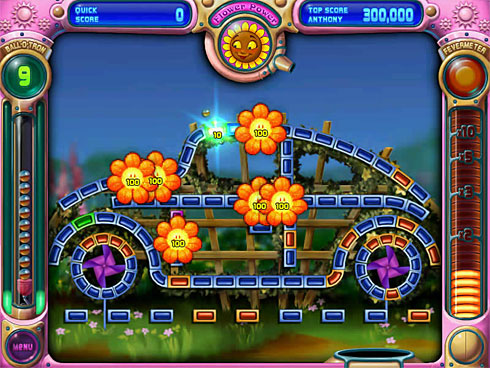 VW Beetle in Peggle iPod game