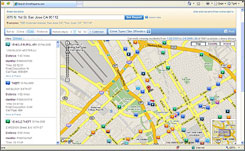 CrimeReports.com overlays police reports on maps so people can view where arrests and other police calls have been made. Users can configure e-mail alerts to notify them of crimes in locations of interest within a day.