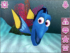 Dory from 'Finding Nemo' is one of the characters you can take care of in 'Disney Friends.'