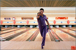 John Turturro in a scene from The Big Lebowski.  Hulu will offer full-length episodes of more than 250 TV series and 100 movies, including The Big Lebowski .