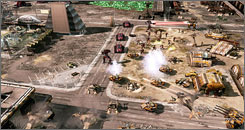 """'Kane's Wrath,' is a new expansion disc that adds more game play to last year's award-winning """"Command & Conquer 3: Tiberium Wars"""" for the PC"""