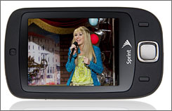 Get full length episodes of Hannah Montana and more on the Sprint TV-enabled Touch phone.