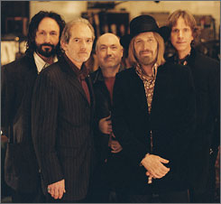 Mike Campbell, left, Benmont Tench, Randall Marsh, Tom Petty and Tom Leadon offer an upgraded Mudcrutch.