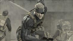 Screen shot from  Metal Gear Solid 4: Guns of the Patriots  being released Thursday