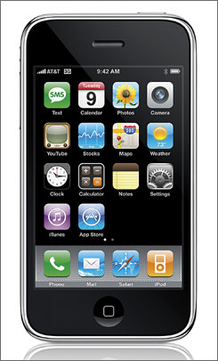 The Apple iPhone 3G.