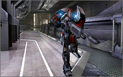 A scene from Unreal Tournament 2003. Researchers studying the 2004 version  found the