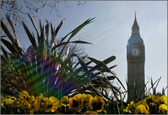 A view of Big Ben, which adorns Britain's Parliament buildings. Britain's House of Lords is debuting five new  videos on YouTube's Parliament channel.