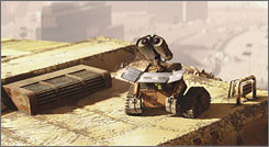 In WALL-E, each robot brims with uniqueness, purpose, and emotion.