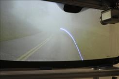 A futuristic windshield combines lasers, infrared sensors and a camera to take what's happening on the road and enhance it. Researchers are working on a windshield so aging drivers with vision problems are able to see a little more clearly. 
