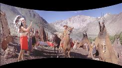 A Cinerama shot from How the West Was Won