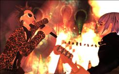 "The real fun in ""Rock Band 2,"" from Harmonix for the Microsoft Xbox 360, Sony PlayStation 2 and 3 and Nintendo Wii, is playing different instruments with friends as a band."
