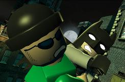 "Batman fights The Riddler and other villains from the comics in ""Lego Batman: The Videogame."""